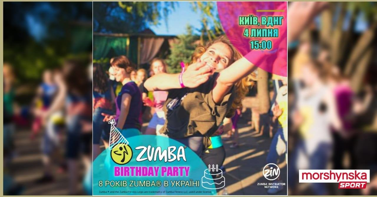 ZUMBA® BIRTHDAY PARTY