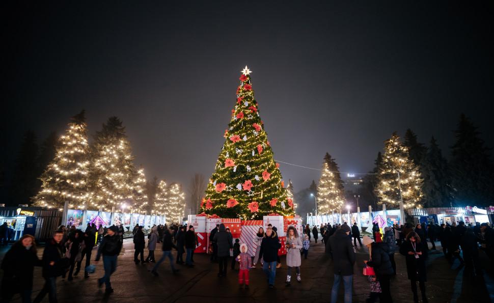 Новий Рік просто неба на ВДНГ! Програма на 31 грудня!