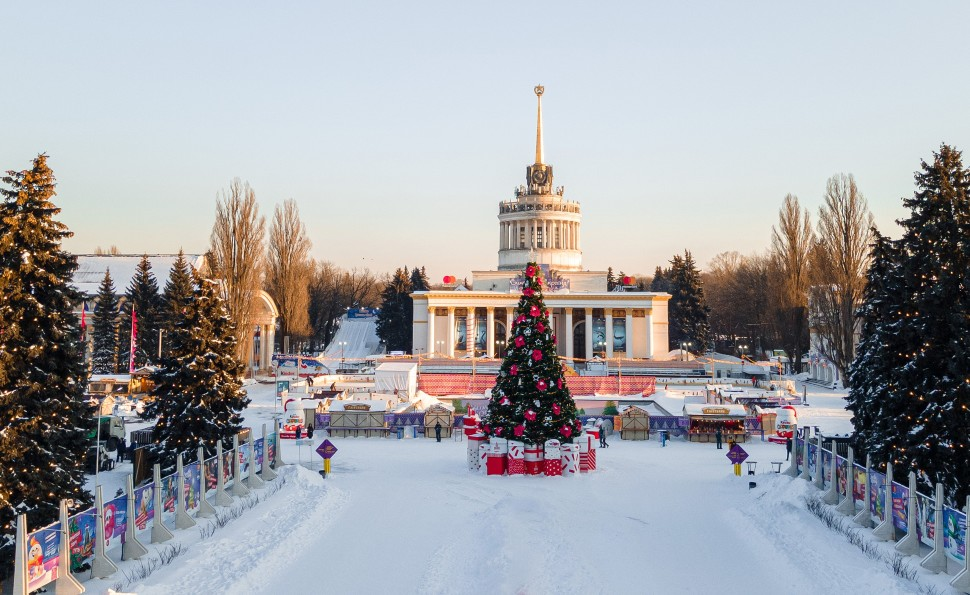 «Зимова Країна на ВДНГ» прийняла цієї зими понад мільйон гостей