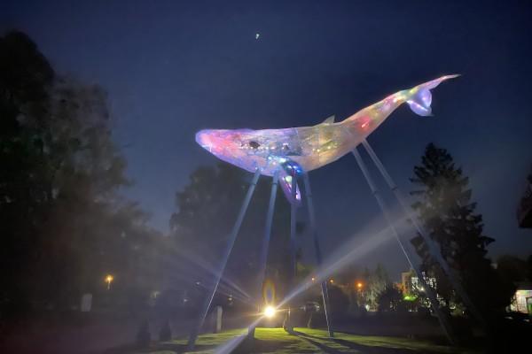 Медіа скульптура Київський Кит