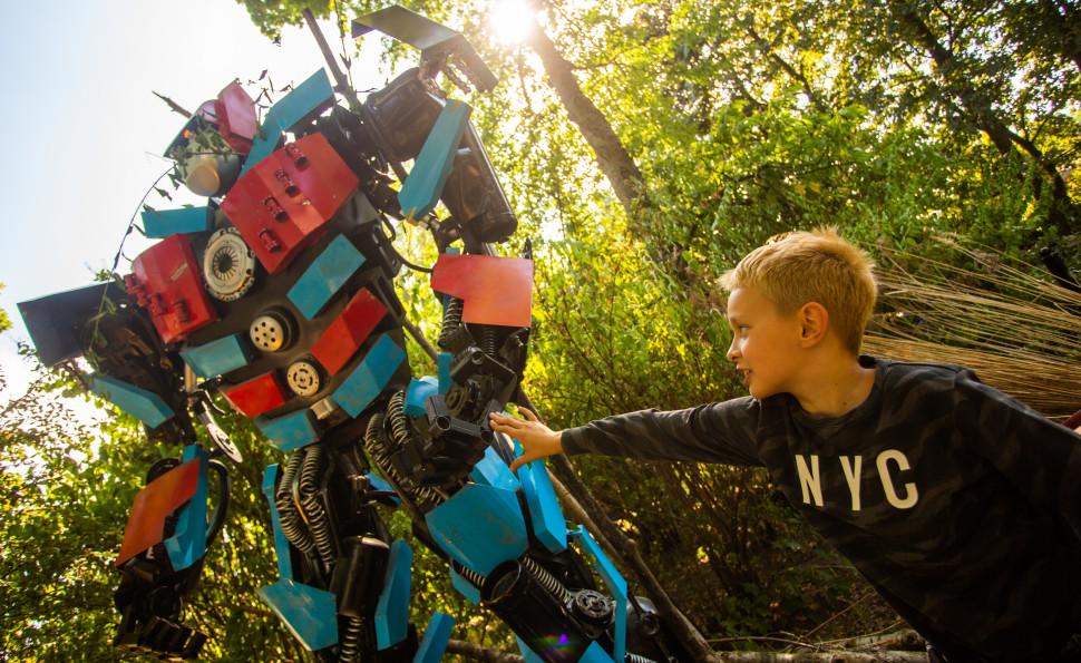 Роботовиставка «Повстання роботів» на ВДНГ!