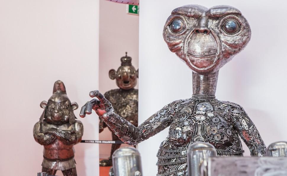 З металолому — у витвір мистецтва: на ВДНГ відкриють унікальну виставку сталевих фігур
