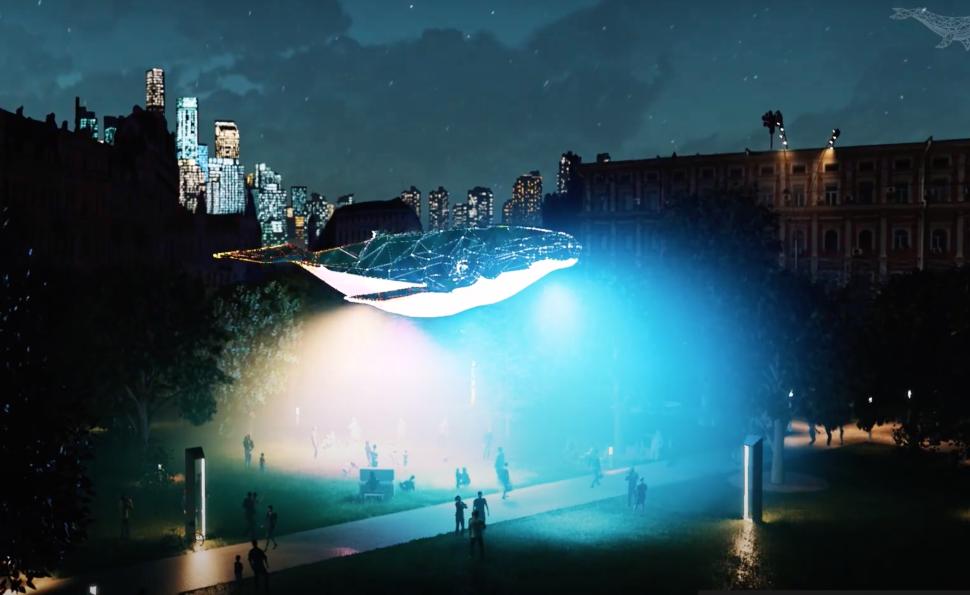 Київський Кит: 12-метрову медіа скульптуру з переробленого пластику презентують на ВДНГ