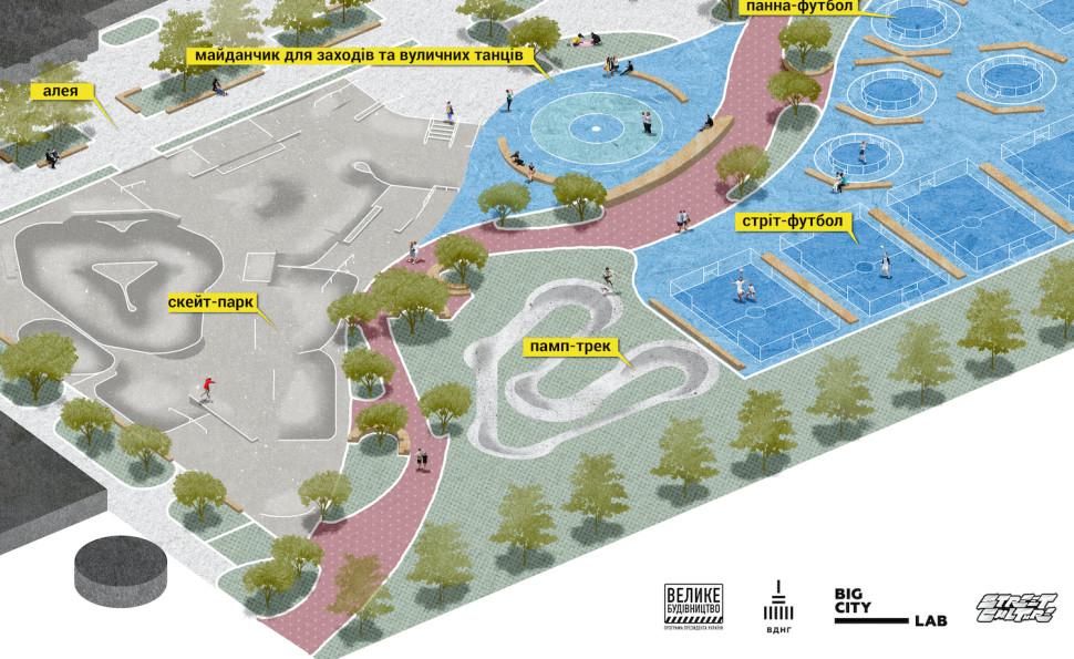 На ВДНГ починаються роботи з облаштування території урбан-парку